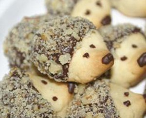 hedgehog cookie recipe